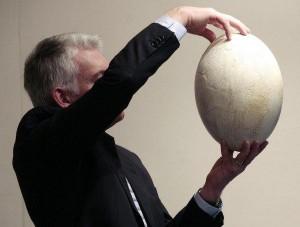 Самое большое яйцо в мире