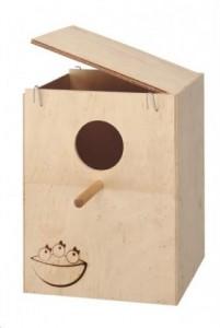 Гнездовой ящик для волнистых попугаев